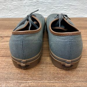 418a3fc7c9 Vans Shoes - Vans - Men s 11 Gray with Brown Leather Trim